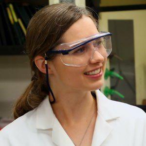 Chemist in lab coat